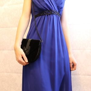 Stunning Flowy Chaps by Ralph Lauren Blue Dress